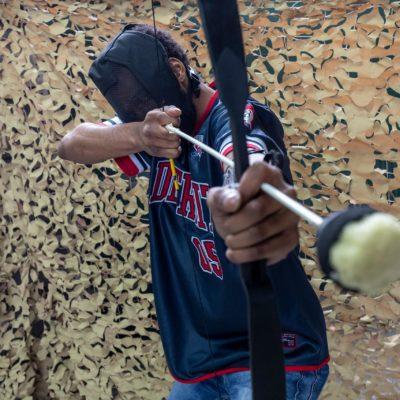 Shepton Mallet Prison Archery Wars